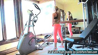 Sydney hot porn solo blonde gym work topless