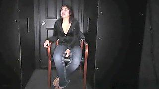 Gloryhole Secrets Horny babe Harley loves cum
