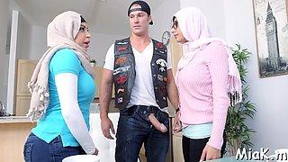arab big tits in a swimming pool feature segment 1