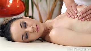 abused by horny masseuse