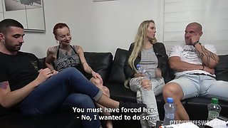 Cheating wife gets ass pounded