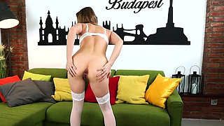Babe butt fucked by bbc