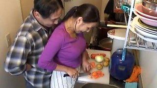 Best Japanese girl Reiko Nakamori, Ryoko Murakami, Nanako Yoshioka in Crazy Couple, Small Tits JAV video