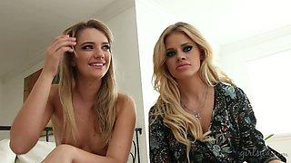 Stunning blonde enchantress Jessa Rhodes and Kenna have some fun