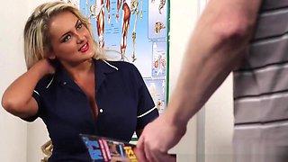 Cfnm Nurse Mocks Loser