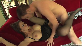 Mckenzie Lee in a huge dick ride and naughty blowjob action