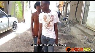African teen couple on chaturbate