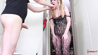 Punishing Jessica Kay by fucking her hard and cumming on her face