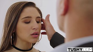 TUSHY Abella Danger fucked in the ass and punished
