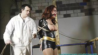 ashley heroine tied