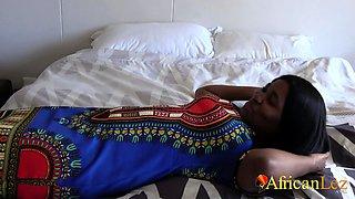 Chubby African Lesbians Make Each Other Cum