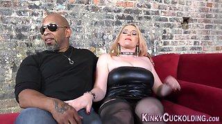 Cuckolding mistress eaten