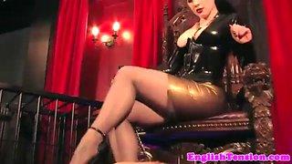 Dominating mistress