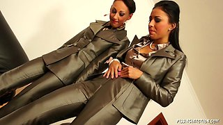 Here is another incredible threesome action featuring very horny lesbians
