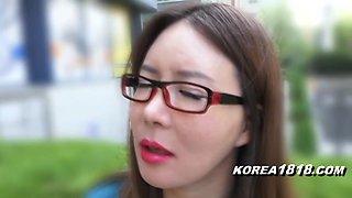 KOREA1818.COM - Korean Lady in Spectacle Glasses