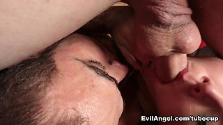 Fabulous pornstars Mona Wales, Brock Avery, Mike Panic in Horny Bisexual sex video