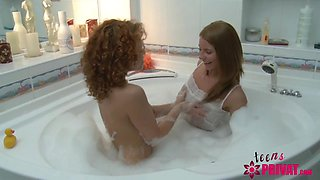 Lesbo Teens one hairy one shaved