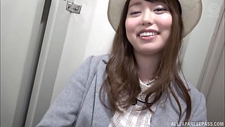 Pure cuteness from Japan called Amane Shizuka getting pounded