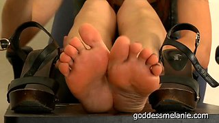Boss Blackmail Foot Cleaning JOI
