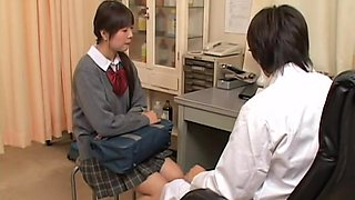 Real gyno sex video with asian slut examined by kinky doctor