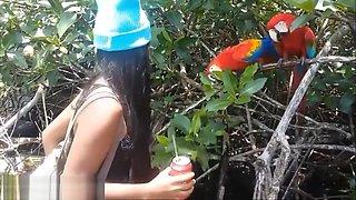 Bocas Del Toro Panama Boating Deepthroat and Creampie