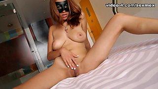Fabiola in Strip and Squirt Video - SexMex