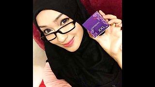 Turkish, Arabic and Asian hijab-mix photo