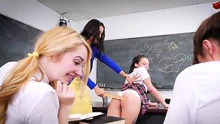 partner's sisters hidden cam After School Detention
