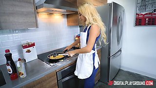 Kenzie Reeves wants to be penetrated after making dinner