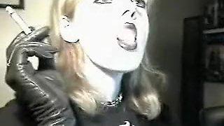Fabulous amateur Blonde, Close-up xxx clip