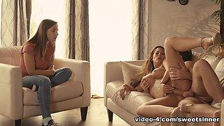Abella Danger & Reena Sky & Logan Pierce in The Object of My Affection - SweetSinner