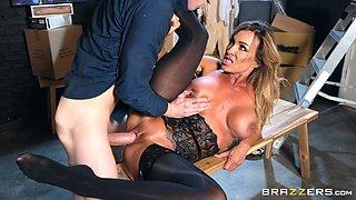 Aubrey Black is an elegant MILF craving a man's huge dick