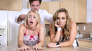 Father companion's daughter blowjob and taboo charming mothe