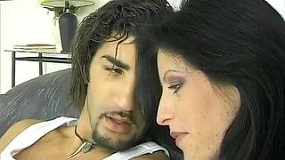 Fabulous Brunette, Anal porn video