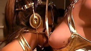 Exotic pornstars Maxi Everson and Regan Starr in amazing cunnilingus, midgets porn clip
