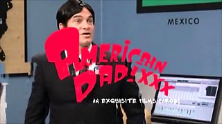American Dad Part 1 - Roger and Hayley