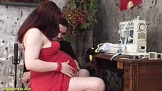 Hot teen is pregnant with twins