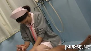 hot nurse becomes patient asian clip 5