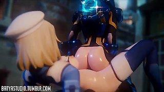 3d big ass animated overwatch hardcore sex