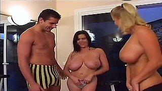 European milfs in hot threesome