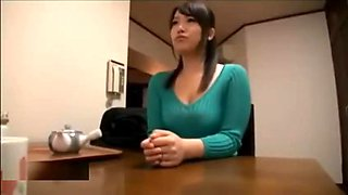 Cheating Japanese Wife Fuck With Husbands Friend