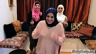 Real girl blowjob Hot arab girls try foursome