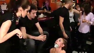Abused In Bar 1 Of 2 bdsm bondage slave femdom domination