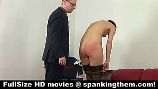 spanked by the cruel boss