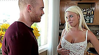 Blonde Sexy Stepmom