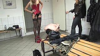 footwear Interceptor gets punished German 39