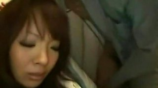 Big titted Asian stunner Hitomi Tanaka hard by her boss
