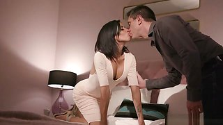 Cheating Euro Wife Getting Anally Drilled