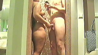 Voluptuous German wife with big thick butt fucked in the shower