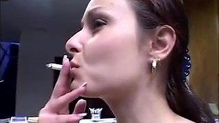 Monica Sweetheart Daniella Rush smoking